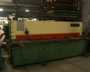 snijmachine plaatbewerking machinepark Posseth